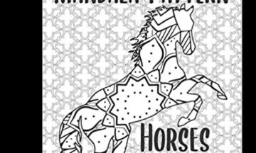 Mandala Pattern Horse Coloring Book New Release